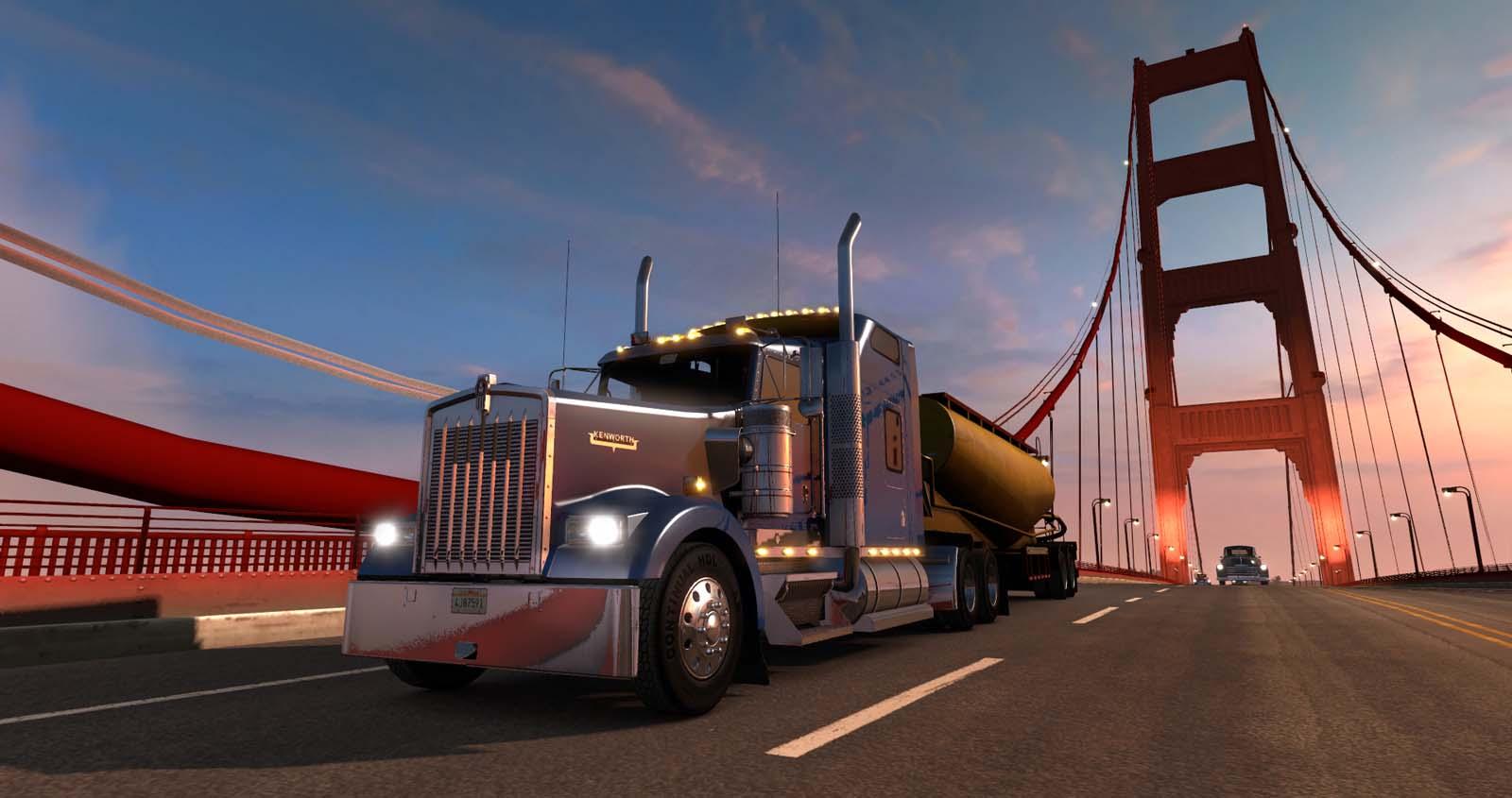 دانلود ترینر 6 کاره بازی American Truck Simulator