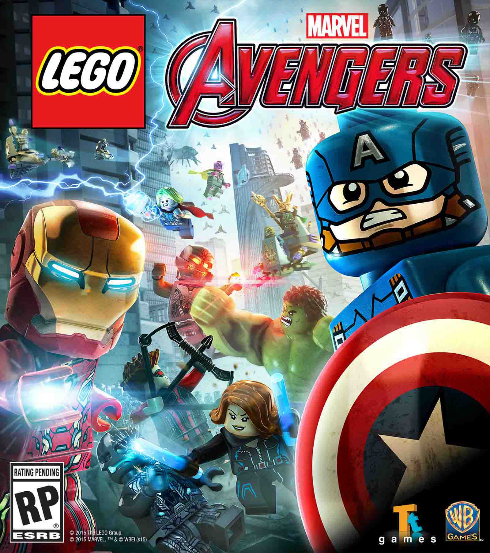 دانلود ترینر 9 کاره بازی LEGO MARVEL's Avengers