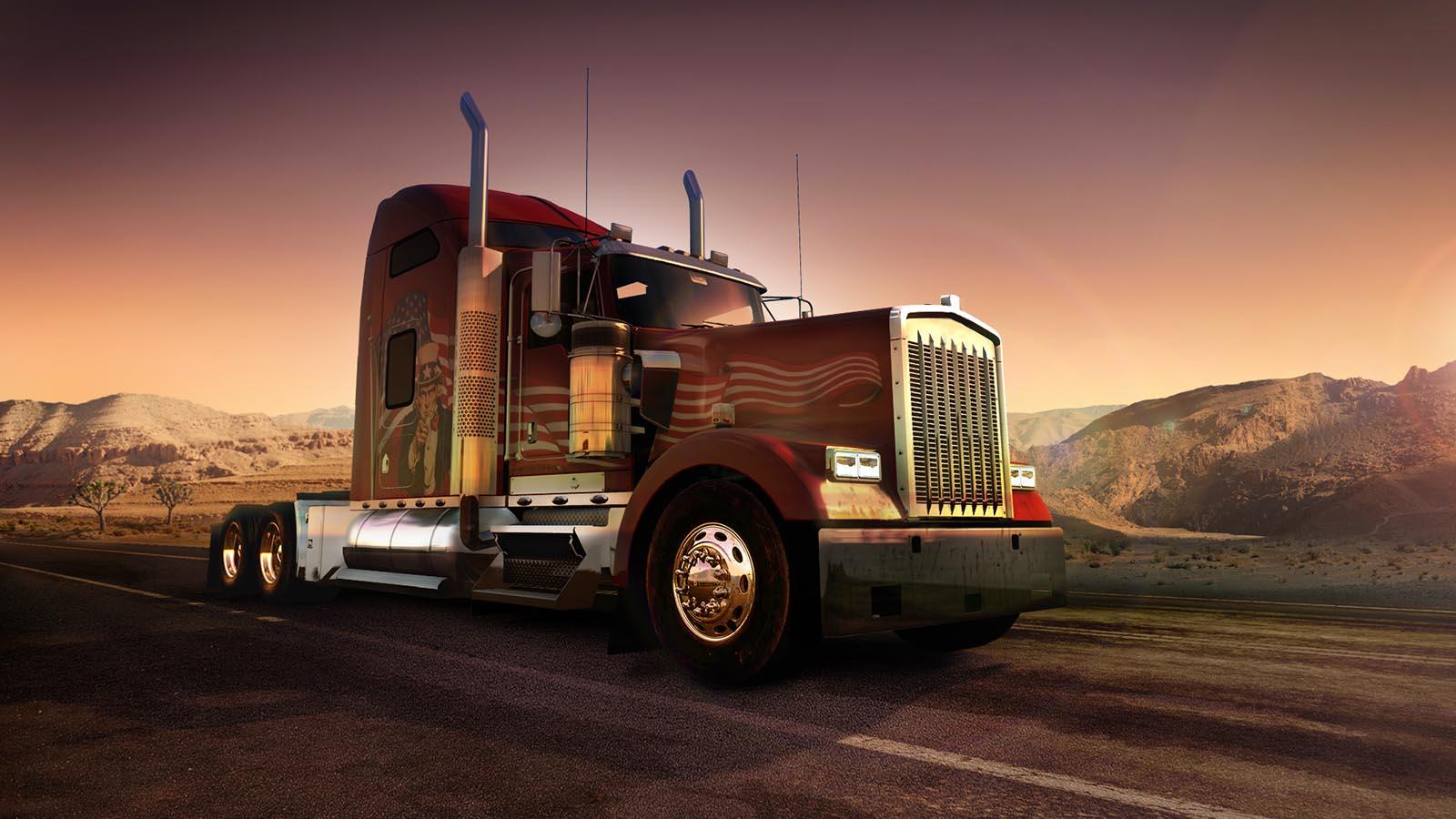 دانلود کرک Codex بازی American Truck Simulator